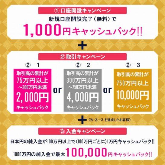 DMMビットコイン1周年記念キャンペーン(2)