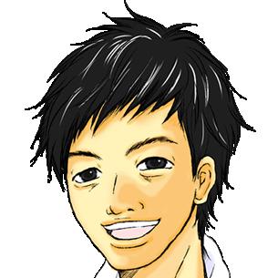 レンガさんの顔画像