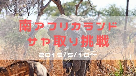 サヤ取り(ランド)-201905