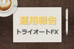 トライオートFX資産運用経過報告タイトル