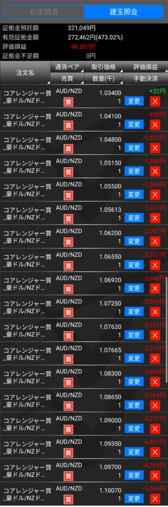 トライオートFXポジション照会20190310